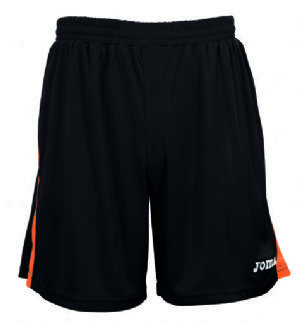 Joma TOKIO Football Short - Black/Orange